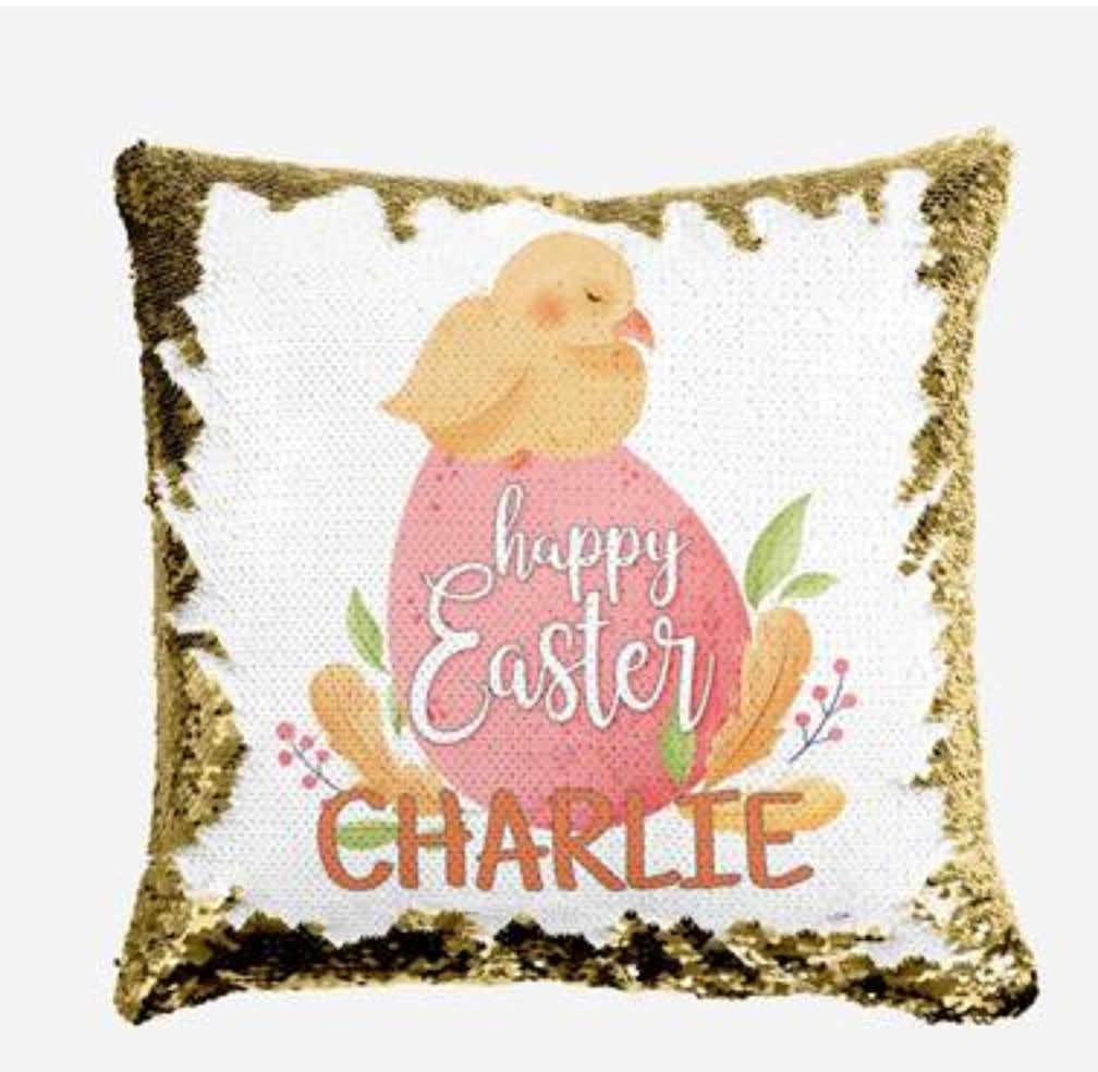 Lil Chick - Personalised Cushion Cover - Mikki & Me Kids