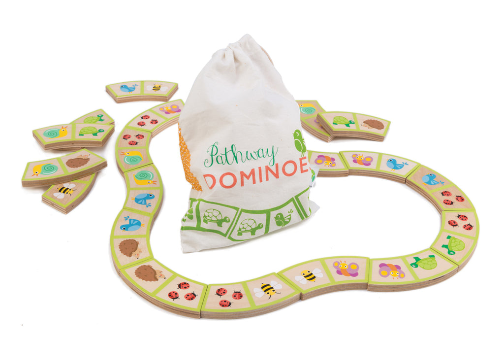 Garden Path Dominoes (Bag) - Mikki & Me Kids
