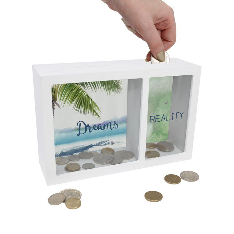 Dreams and Reality Money Box - Mikki & Me Kids