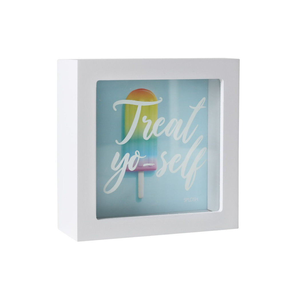 Treat Yo'self Mini Money Box - Mikki & Me Kids