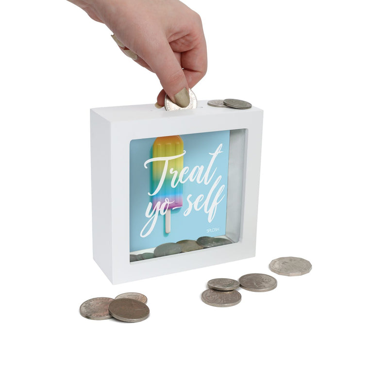 Treat Yo'self Mini Money Box