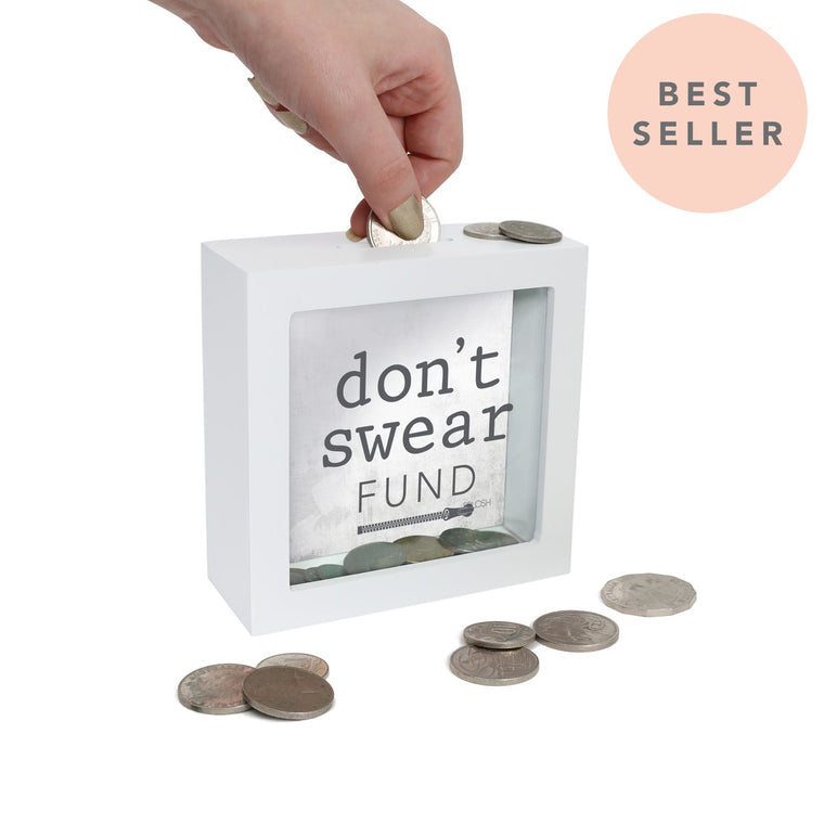 Don't Swear Fund Mini Money Box - Mikki & Me Kids