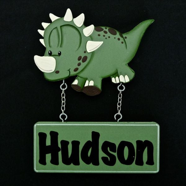 Kids Door Plaque - Dinosaur - Mikki & Me Kids