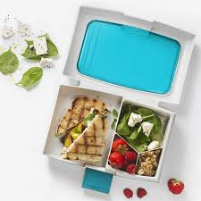 Fuel Bento Lunch Box Blue - Mikki & Me Kids
