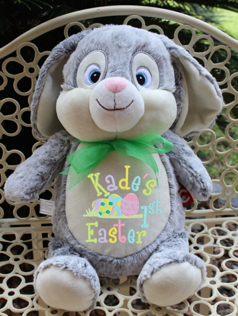 Grey Rabbit Cubbie