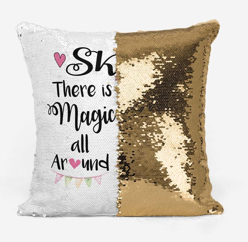 Magic all Around - Personalised Cushion Cover - Mikki & Me Kids