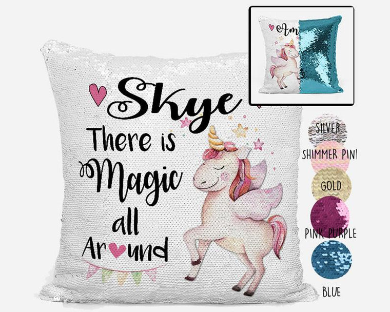 Magic all Around - Personalised Cushion Cover