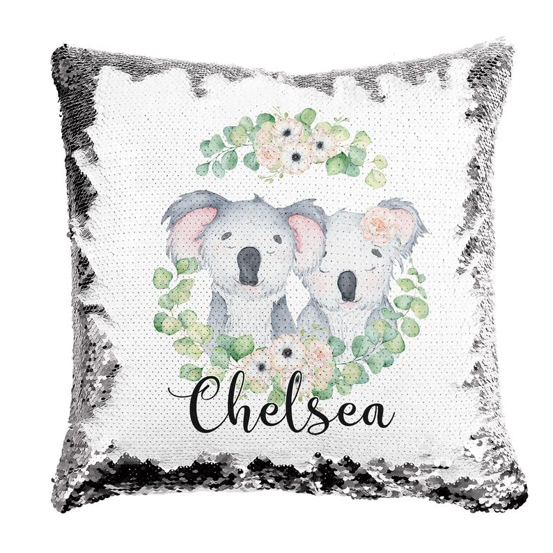 Koala Friends - Personalised Cushion Cover - Mikki & Me Kids