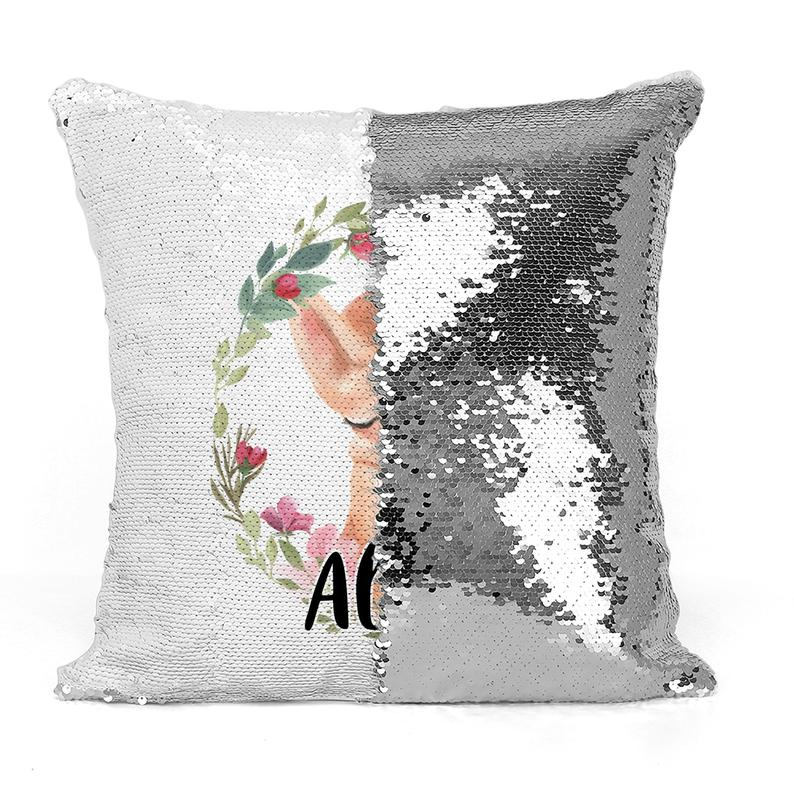 Sleeping Kitten - Personalised Cushion Cover - Mikki & Me Kids