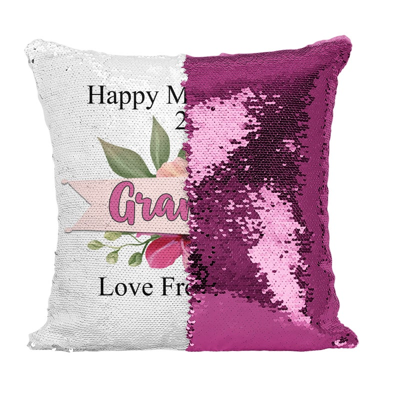 Mothers Day - Personalised Cushion Cover - Mikki & Me Kids