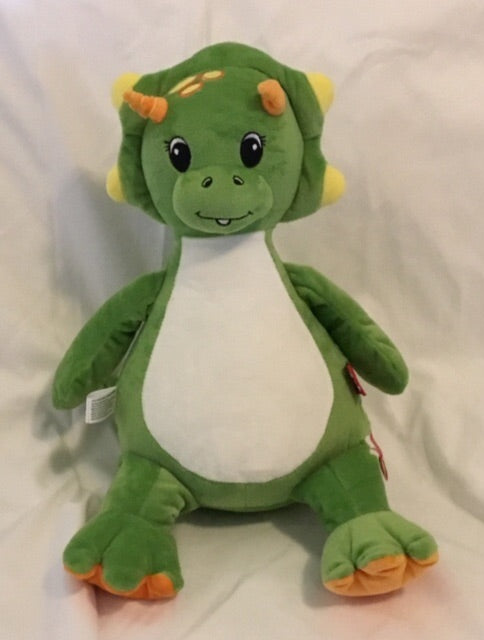Personalised Green Dragon Cubbie - Mikki & Me Kids