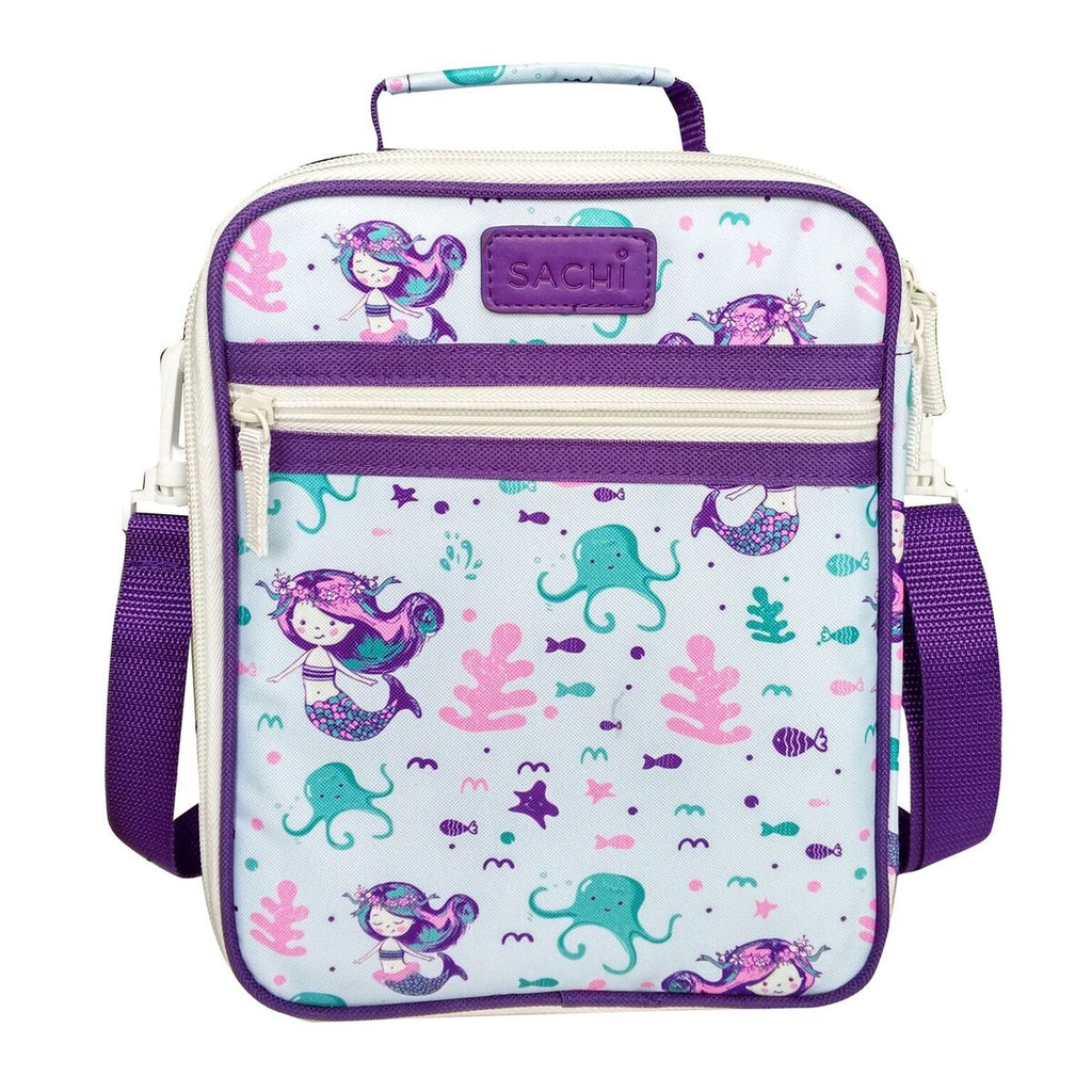 Sachi Insulated Junior Lunch Tote - Mermaids