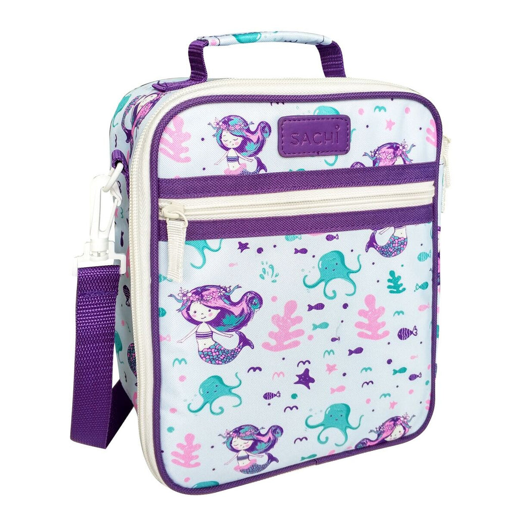 Sachi Insulated Junior Lunch Tote - Mermaids - Mikki & Me Kids