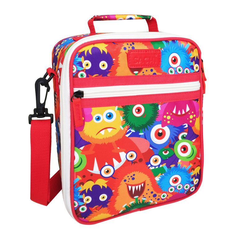 Sachi Insulated Junior Lunch Tote - Monsters