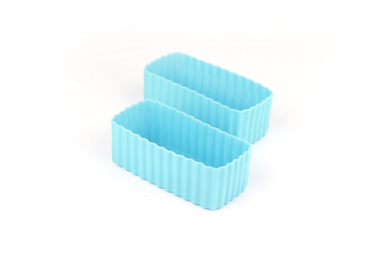 BENTO CUPS RECTANGLE – Light Blue *PRE ORDER Mid December Delivery*