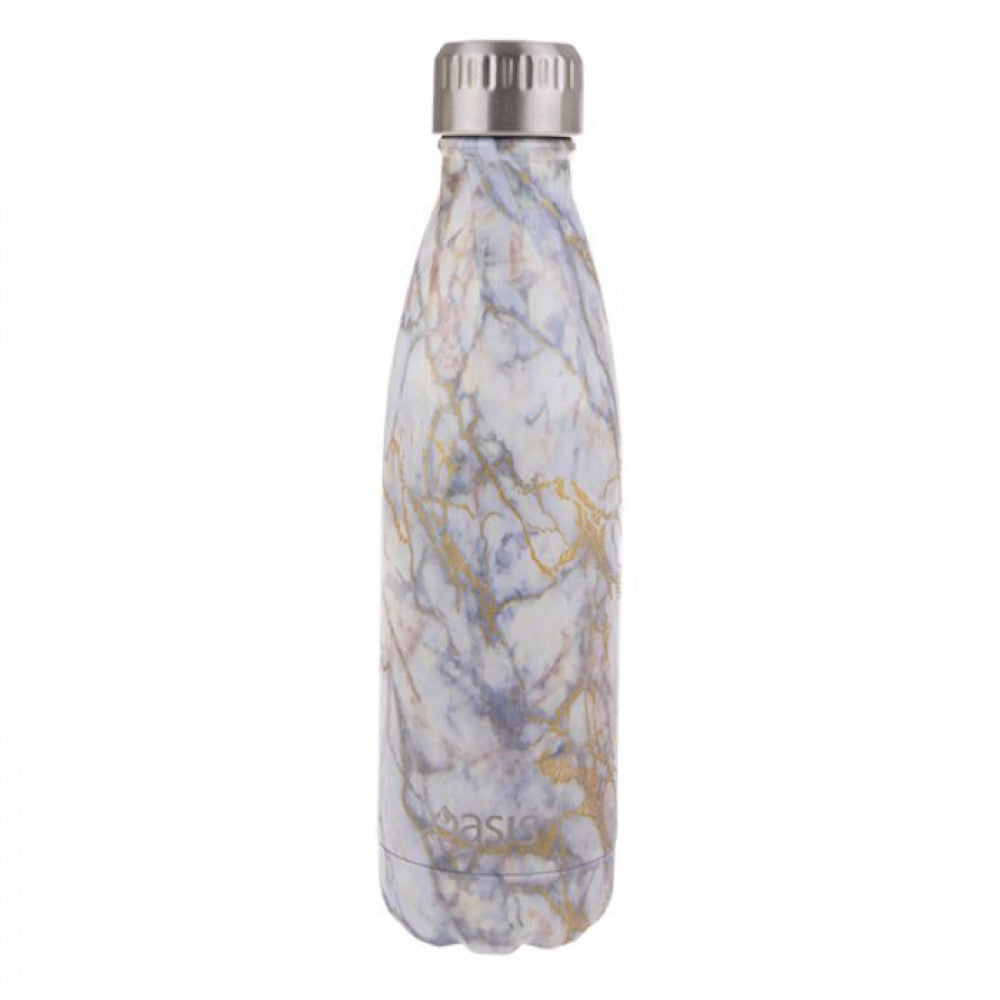 OASIS Stainless Steel Insulated Drink Bottle - Gold Quartz 500ml - Mikki & Me Kids