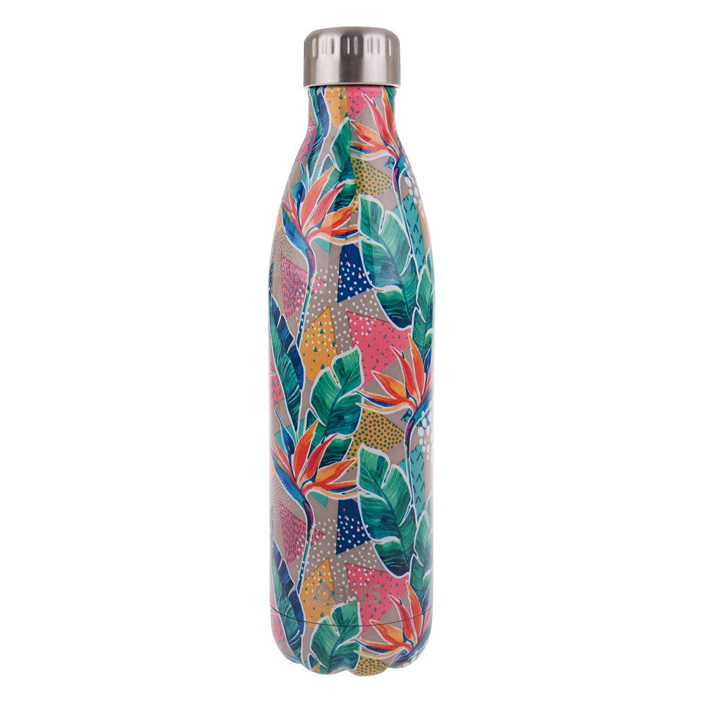 OASIS Stainless Steel Insulated Drink Bottle - Botanical - Mikki & Me Kids