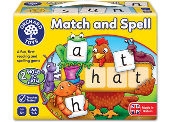 Orchard Game - Match And Spell - Mikki & Me Kids