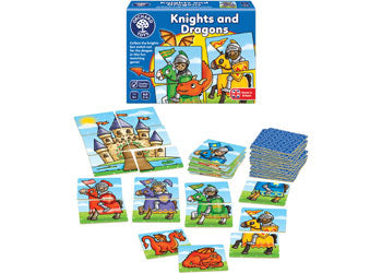 Orchard Game - Knights And Dragons - Mikki & Me Kids