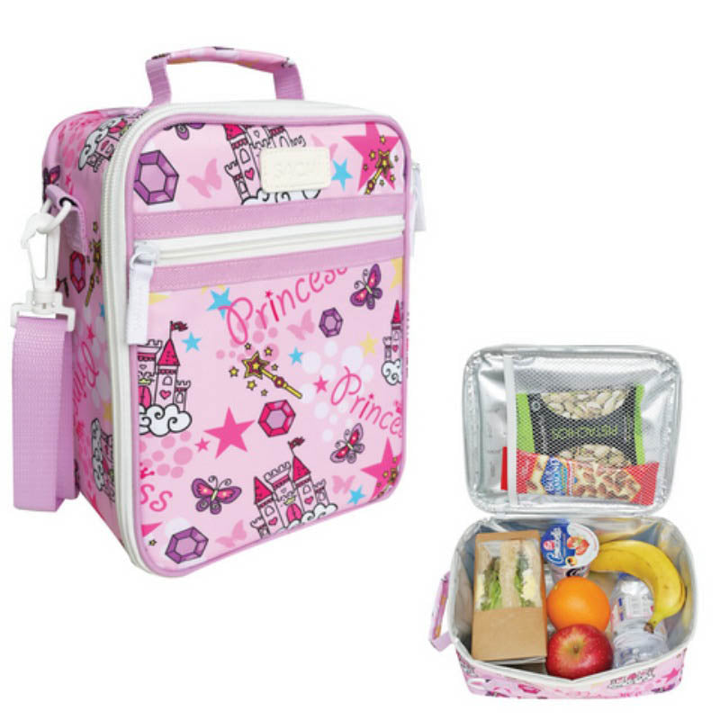 Sachi Insulated Lunch Tote - Princess - Mikki & Me Kids