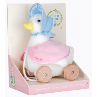 Pull Along Toy - Jemima Puddle Duck - Mikki & Me Kids