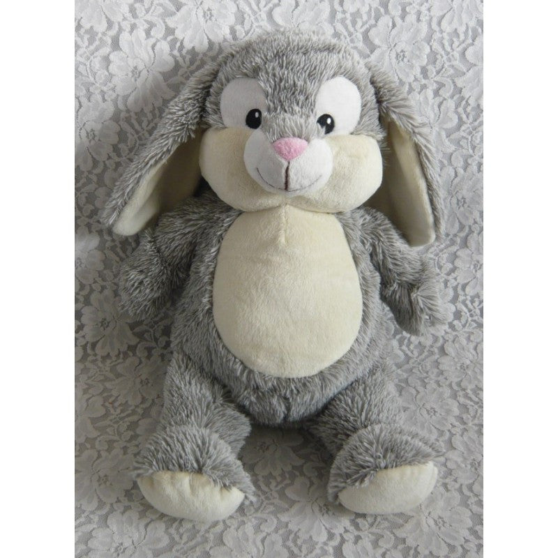 Grey Rabbit Cubbie - Mikki & Me Kids