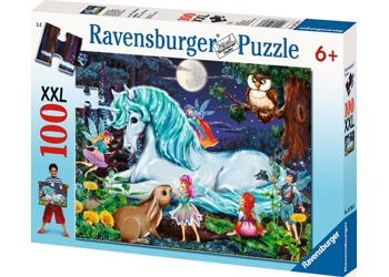Ravensburger - Enchanted Forest Puzzle 100 pieces - Mikki & Me Kids