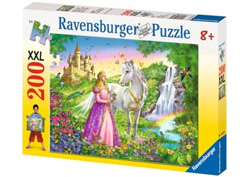 Ravensburger - Princess with Horse Puzzle 200 pieces - Mikki & Me Kids