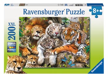 Ravensburger - Big Cat Nap Puzzle 200 pieces - Mikki & Me Kids