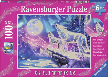 Ravensburger - Twilight Howl Puzzle 100pc *Glitter* - Mikki & Me Kids