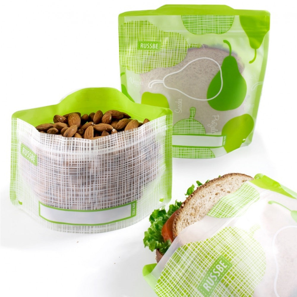 Russbe Snack & Sandwich Pockets - Pear - Mikki & Me Kids