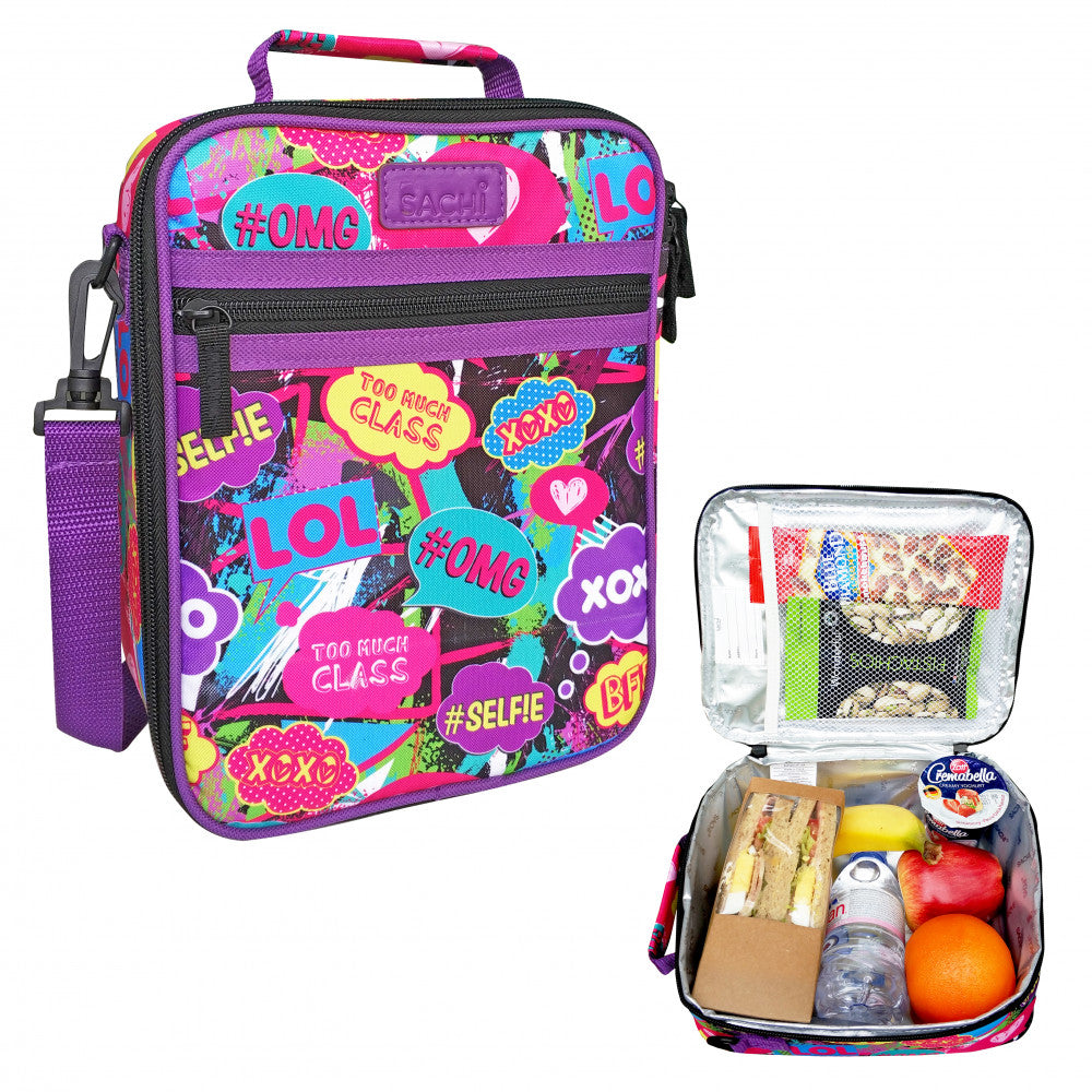 Sachi Insulated Junior Lunch Tote - Youth Culture - Mikki & Me Kids