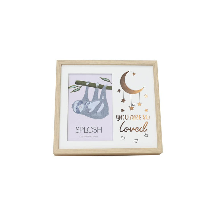 Furry Little Friends Light Up Frame - Sloth