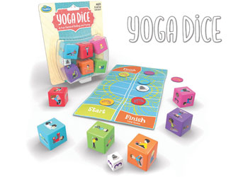ThinkFun - Yoga Dice - Mikki & Me Kids