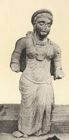 Ancient Saree Claded Women