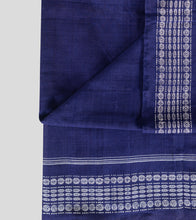 Load image into Gallery viewer, Blue Sambalpuri Cotton Saree-Blouse Piece