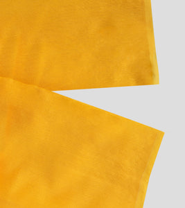 Yellow Bengal Silk Cotton Jamdani Saree-Blouse Piece
