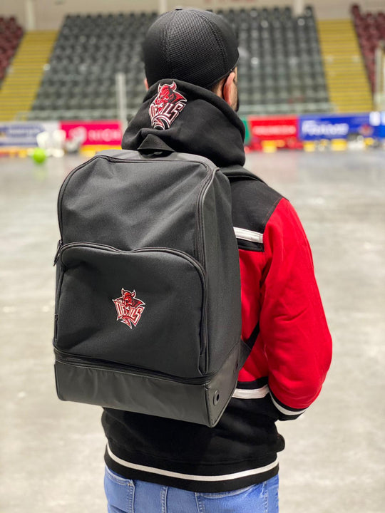 Cardiff Devils Hard Base Sports Backpack