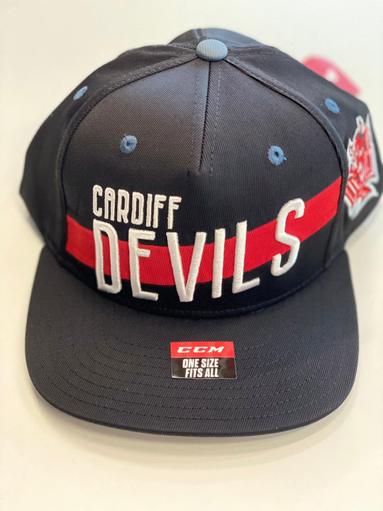 CCM Cardiff Devils Stitched Black Snapback