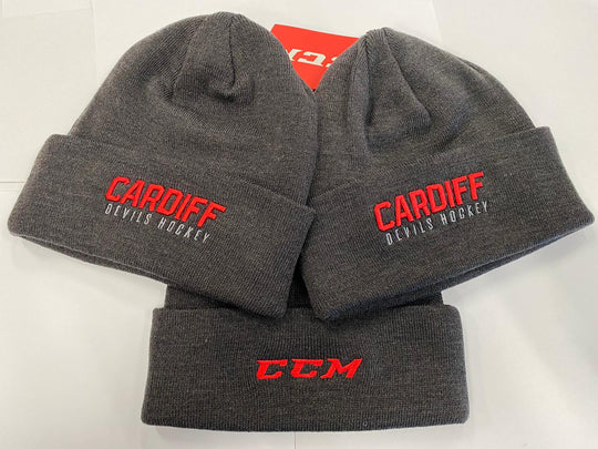 CCM Beanie Hat - Charcoal Grey
