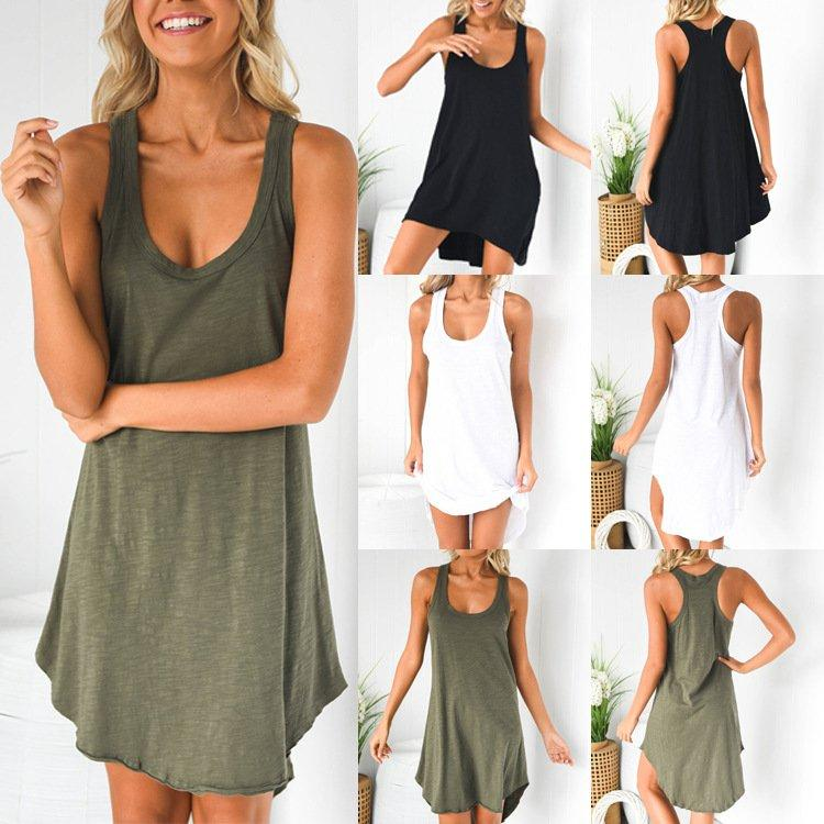 Casual Sleeveless Dresses