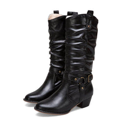 Women Vintage Booties Casual  Shoes