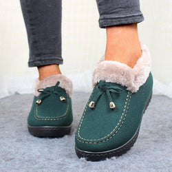 Women's Low Heel Warm Non-slip Cotton Shoes