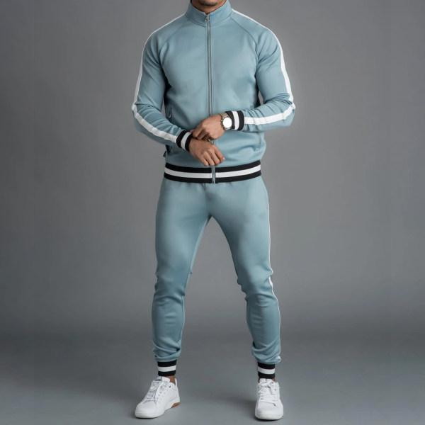 Men Polyester high-neck sport suit