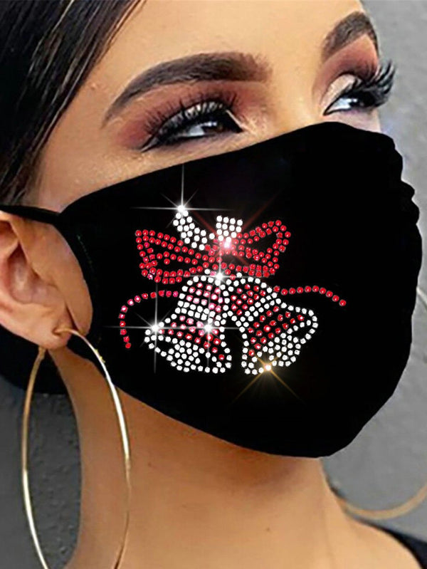 2020 Christmas cycling mask