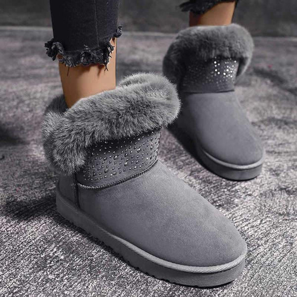 Fashion women warm thick sole boots