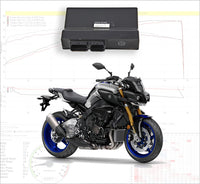Tovami remapping Yamaha MT-10 2016-2019
