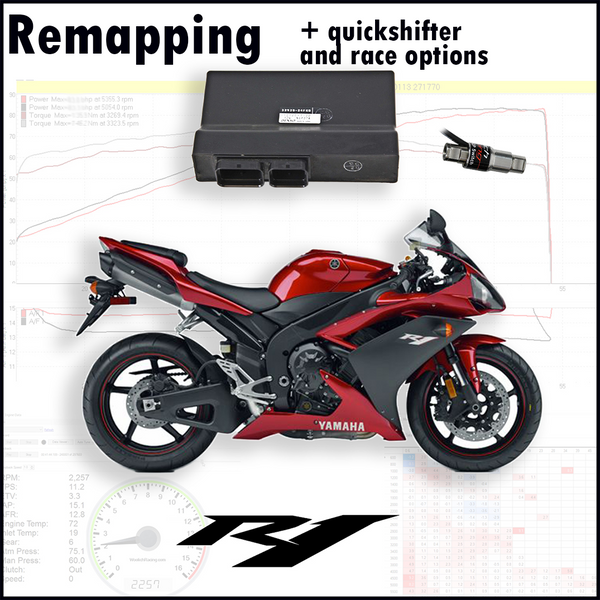 Tovami remapping, quickshifter and race options Yamaha XSR700 2017