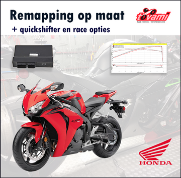 Tovami Remapping, quickshifter and race options Honda CBR1000RR 2008-2016