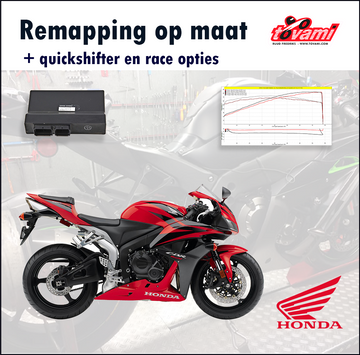 Tovami Remapping, quickshifter and race options Honda CBR600RR 2007-2018